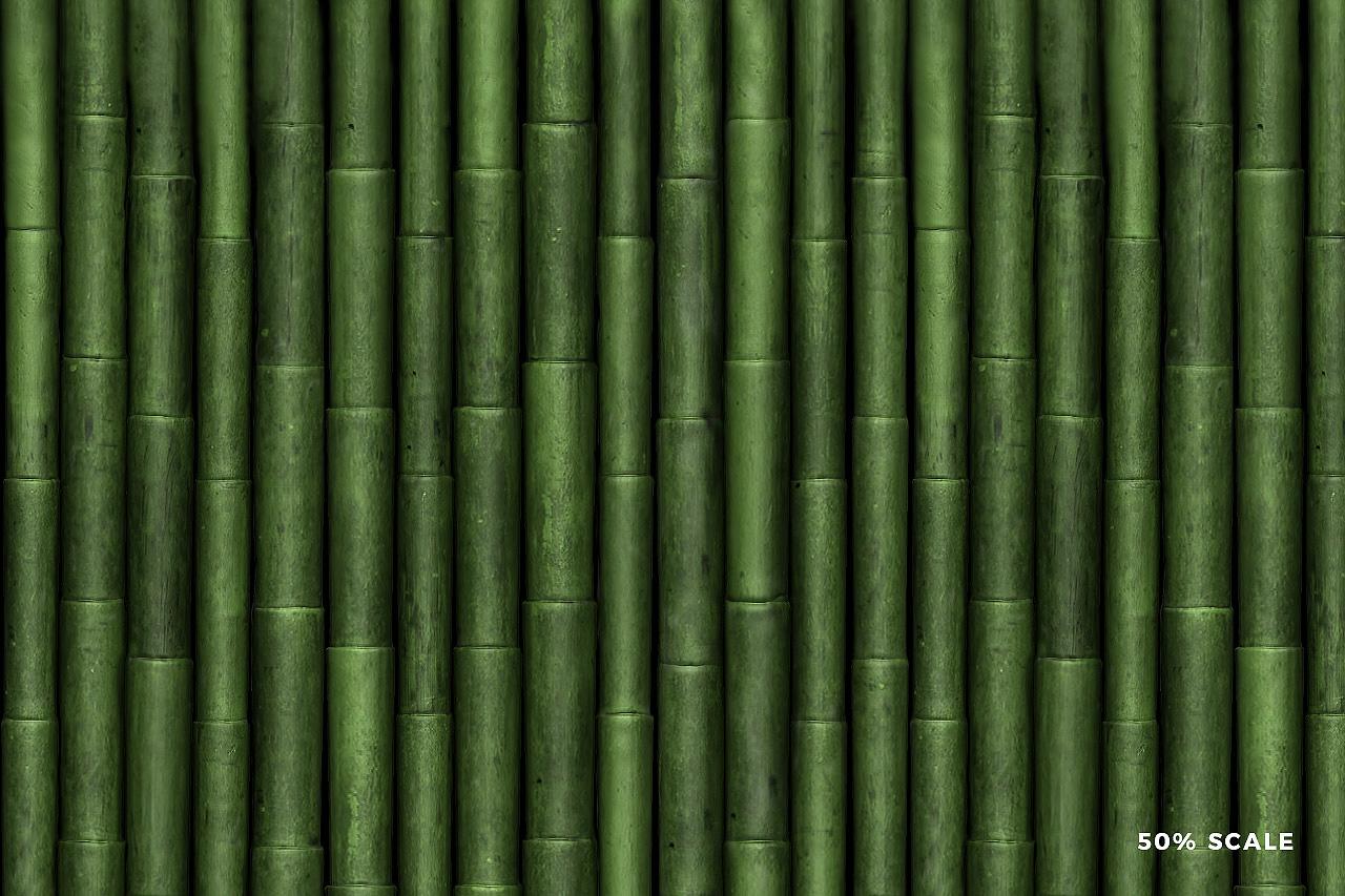 Seamless Bamboo Pattern 3