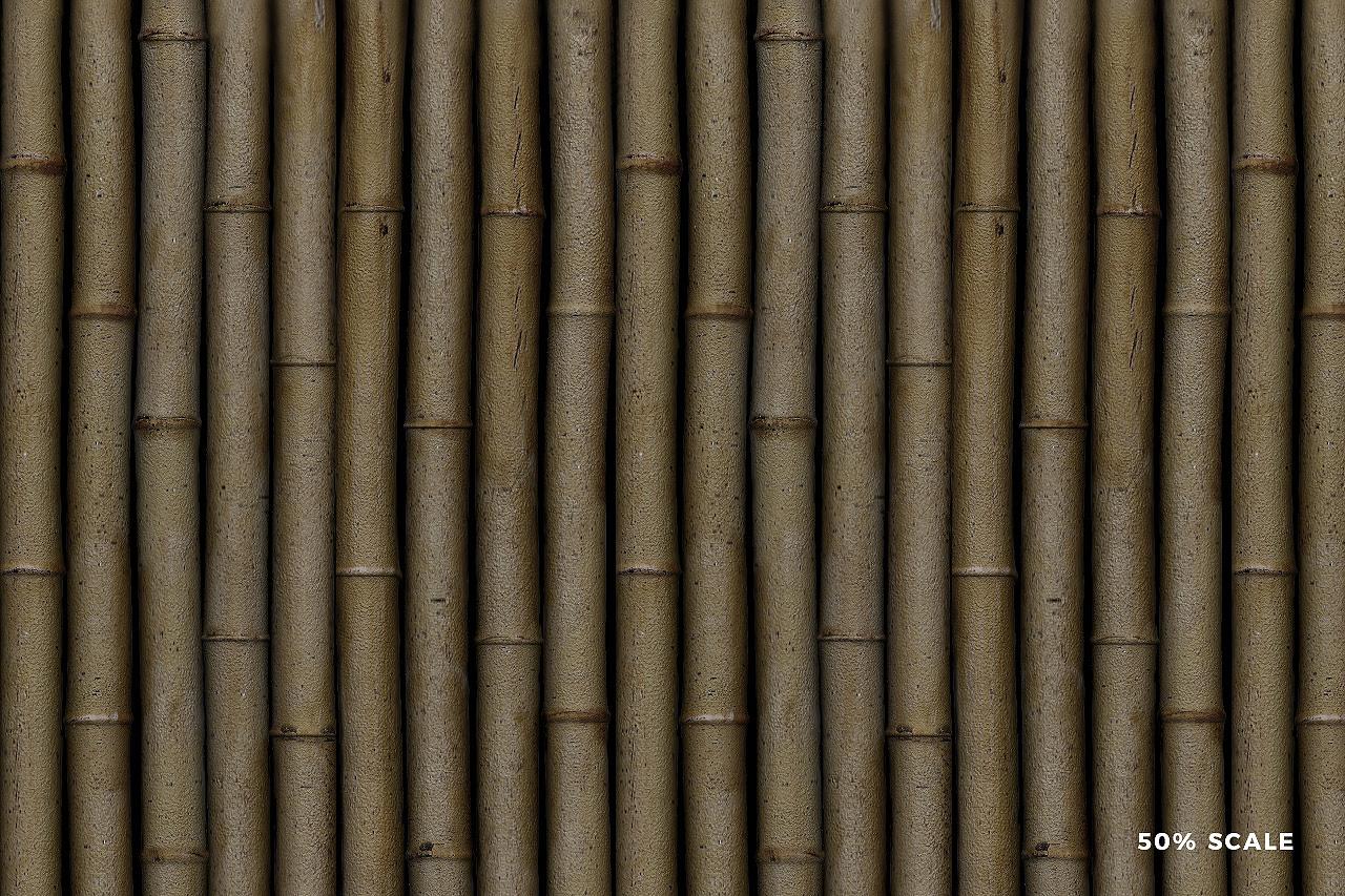 Seamless Bamboo Pattern 4