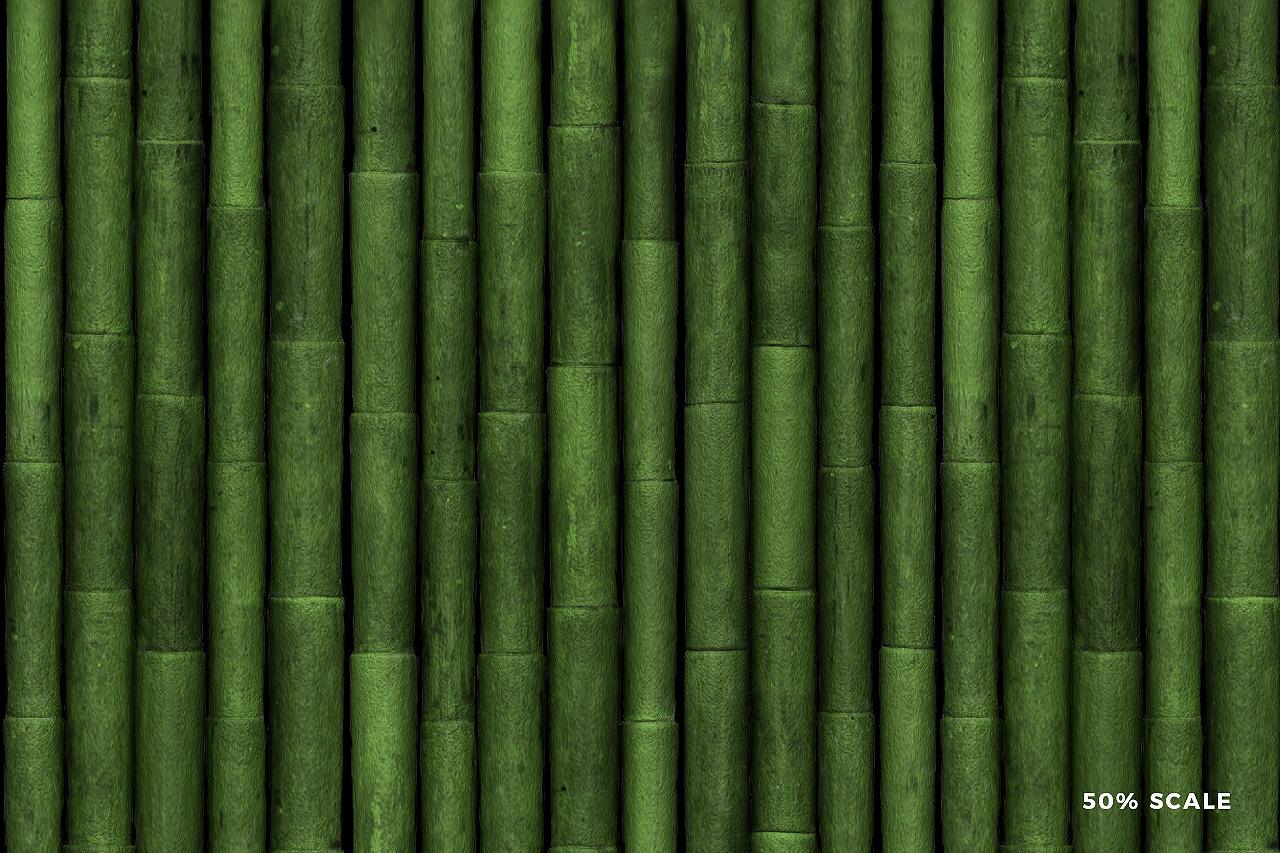 Seamless Bamboo Pattern 5