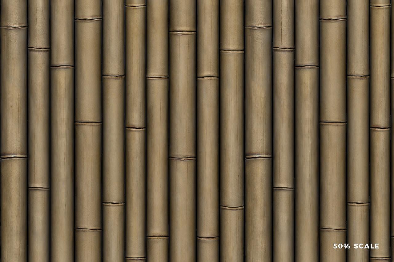 Seamless Bamboo Pattern 6