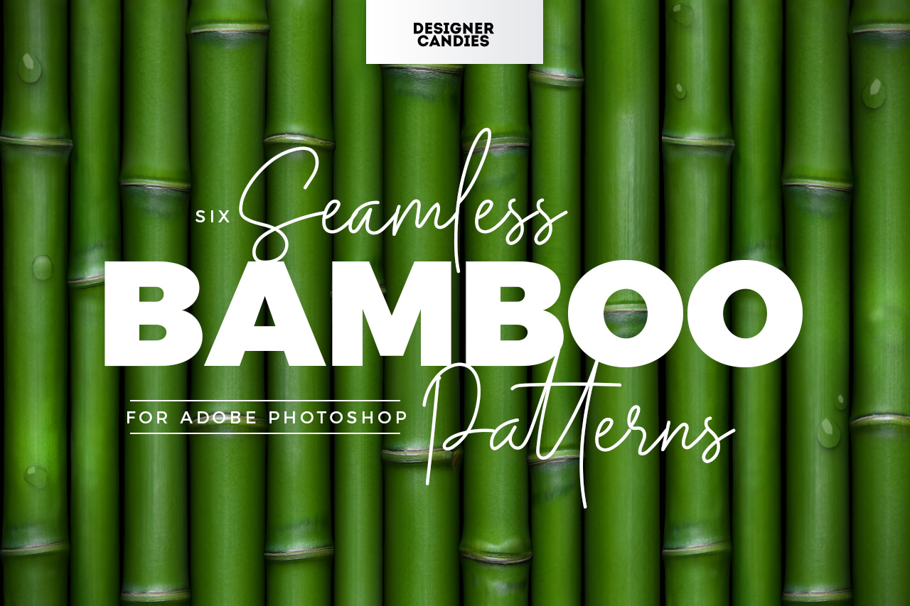 Bamboo Patterns for Photoshop