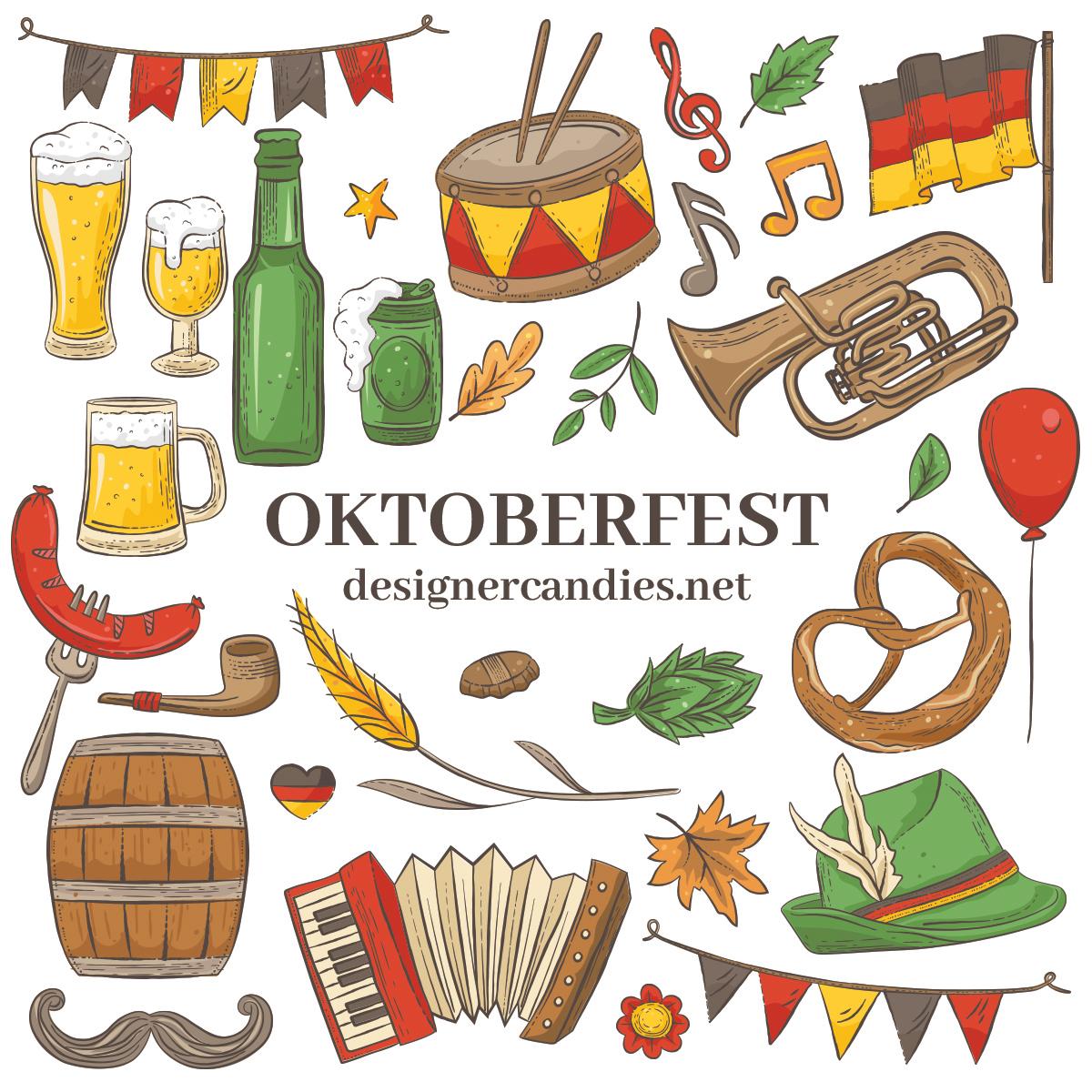 Oktoberfest Illustrations in PSD & Vector