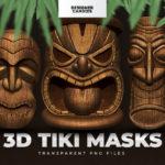 3D Tiki Masks