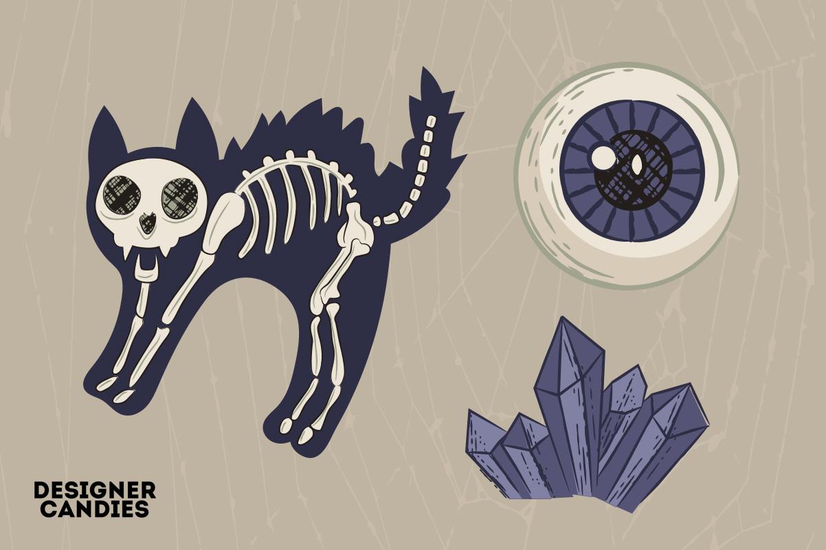 Halloween Black Cat Illustrations