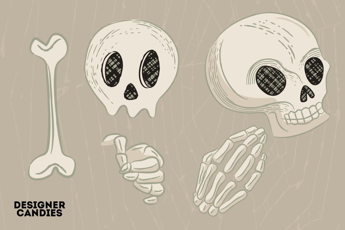 Halloween Skull Illustrations in PSD & Vector