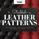 Studded Leather Patterns for Photoshop
