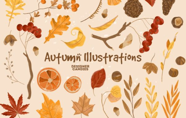 Autumn/Fall Vector Illustrations