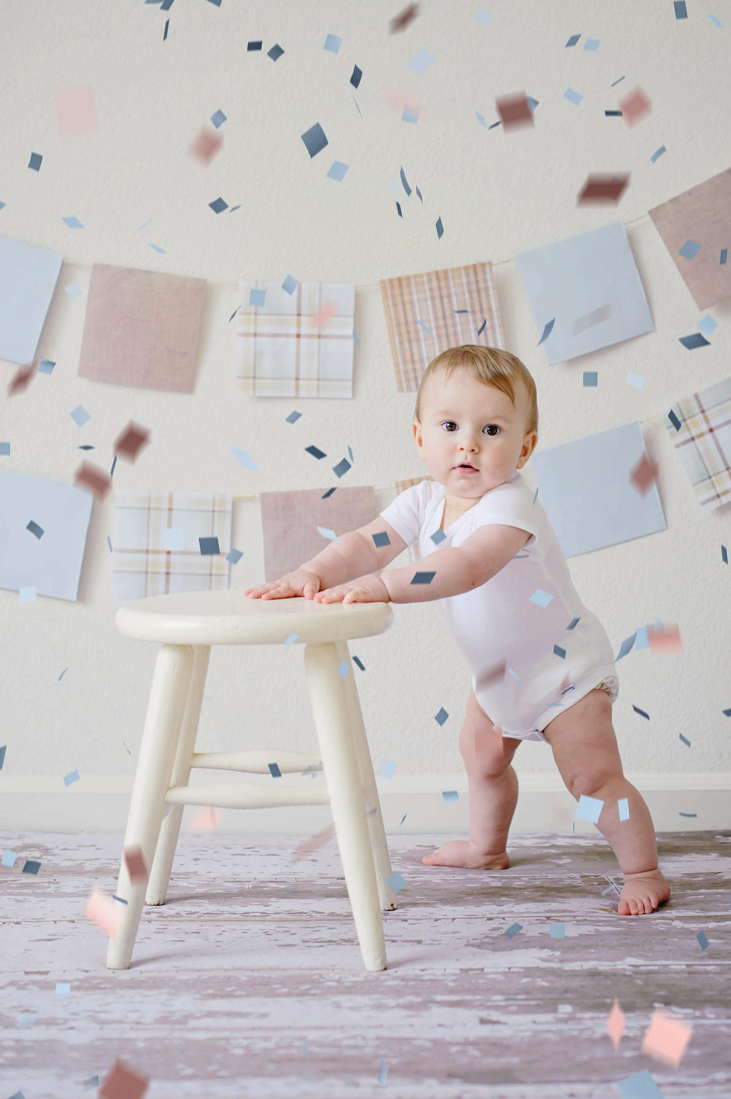 Paper Confetti Overlays Example