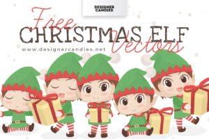 Free Christmas Elf Vectors