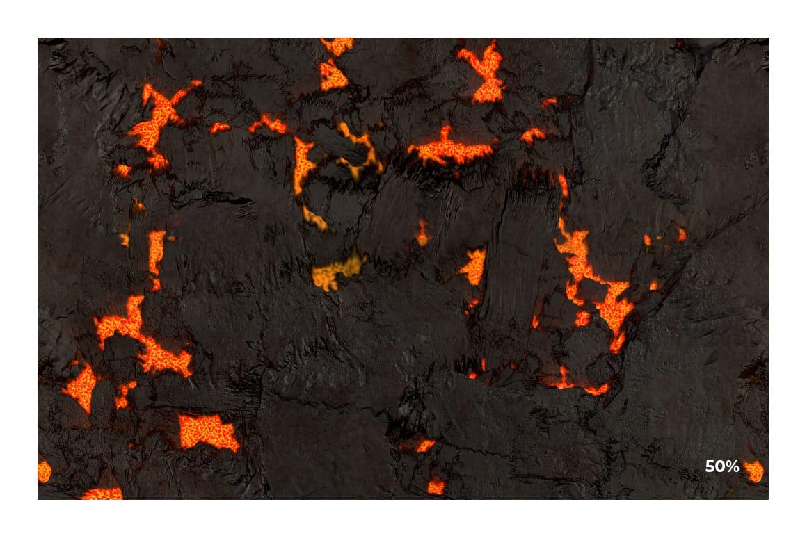 Lava Pattern 3