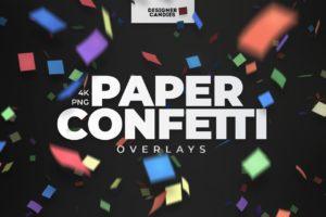 Paper Confetti Overlays