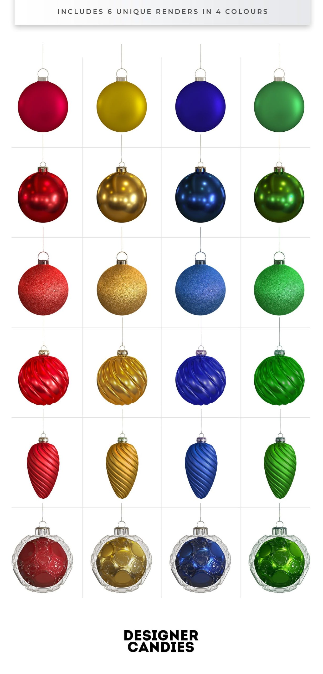 Christmas Bauble PNGs