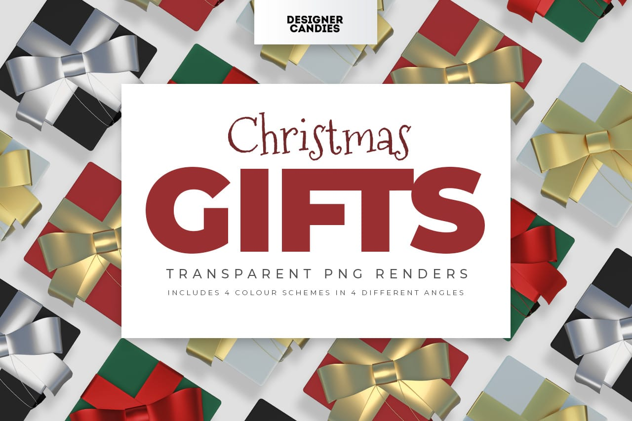 Christmas Gift PNGs