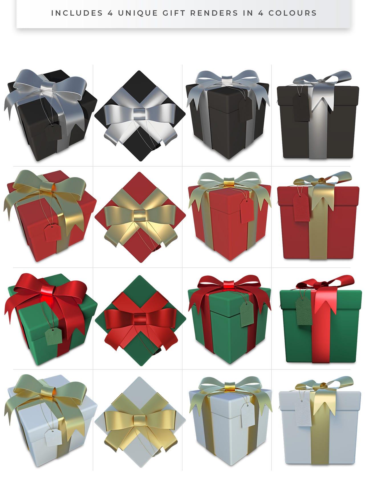 Gift Box PNGs