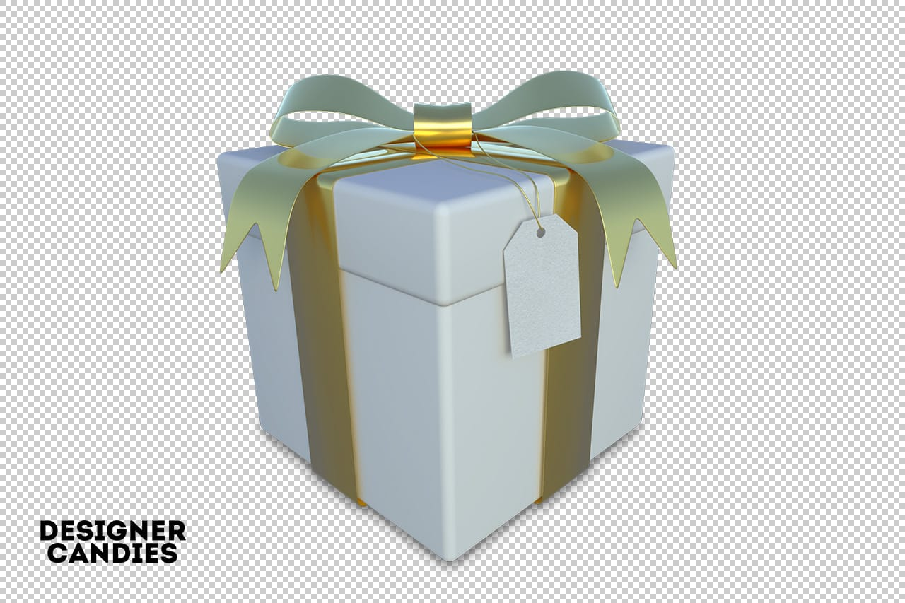 Transparent Isolated Gift Box PNG