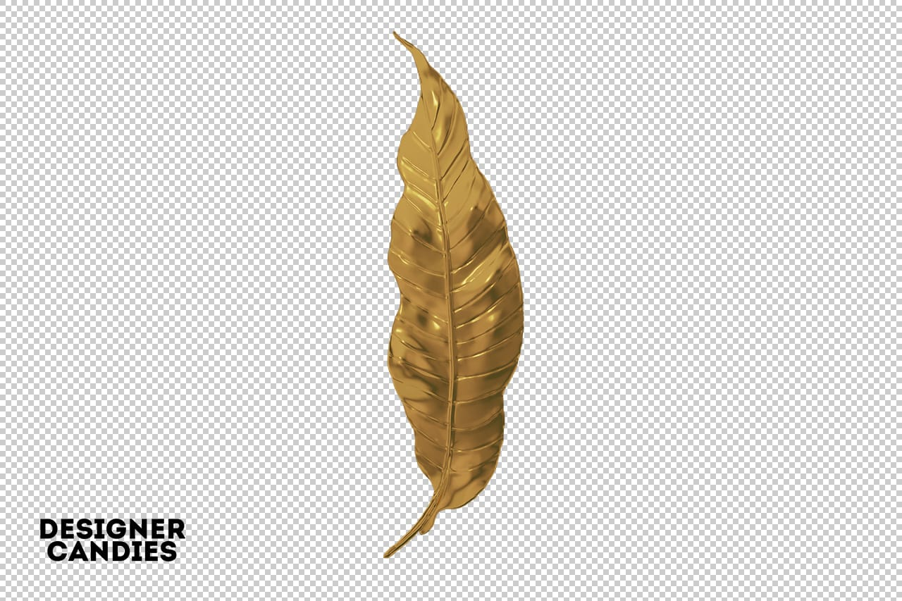 Gold Leaf PNG