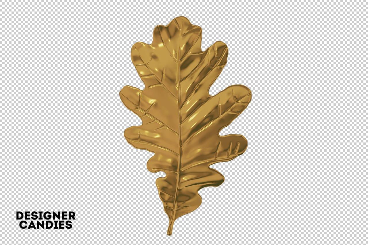Gold Leaf PNG
