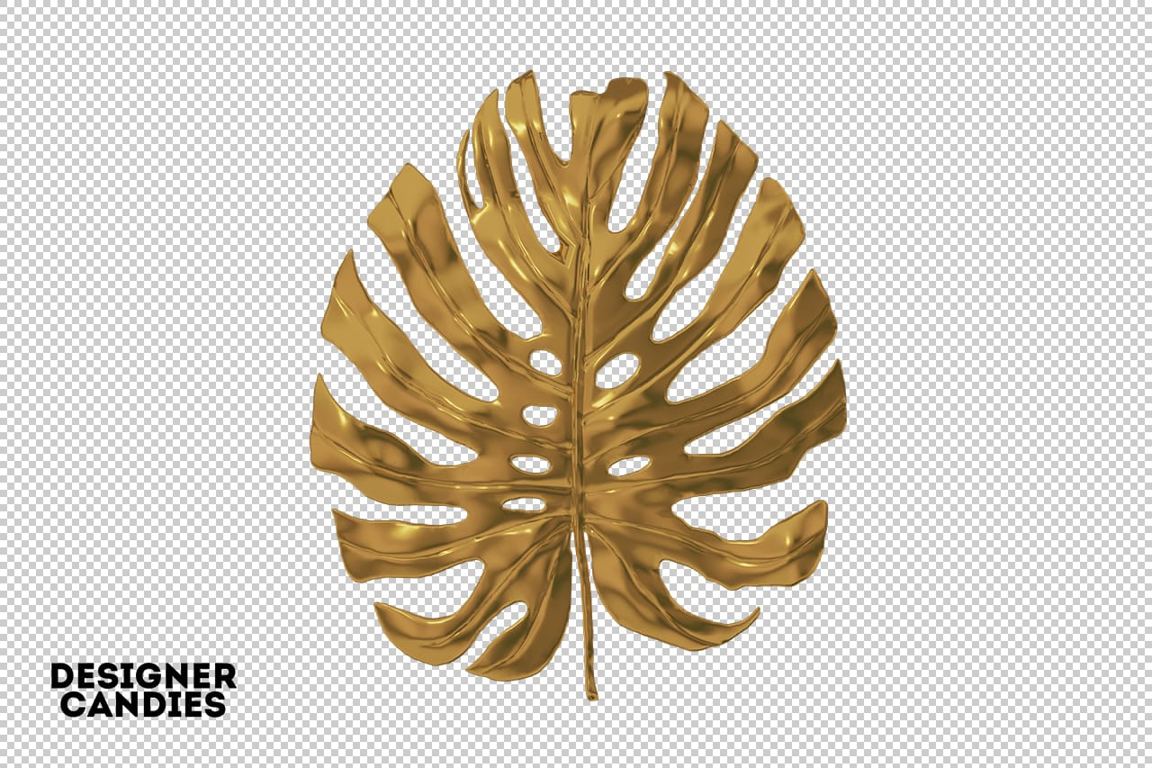 Gold Leaves Png Gold Leaf Overlays Designercandies