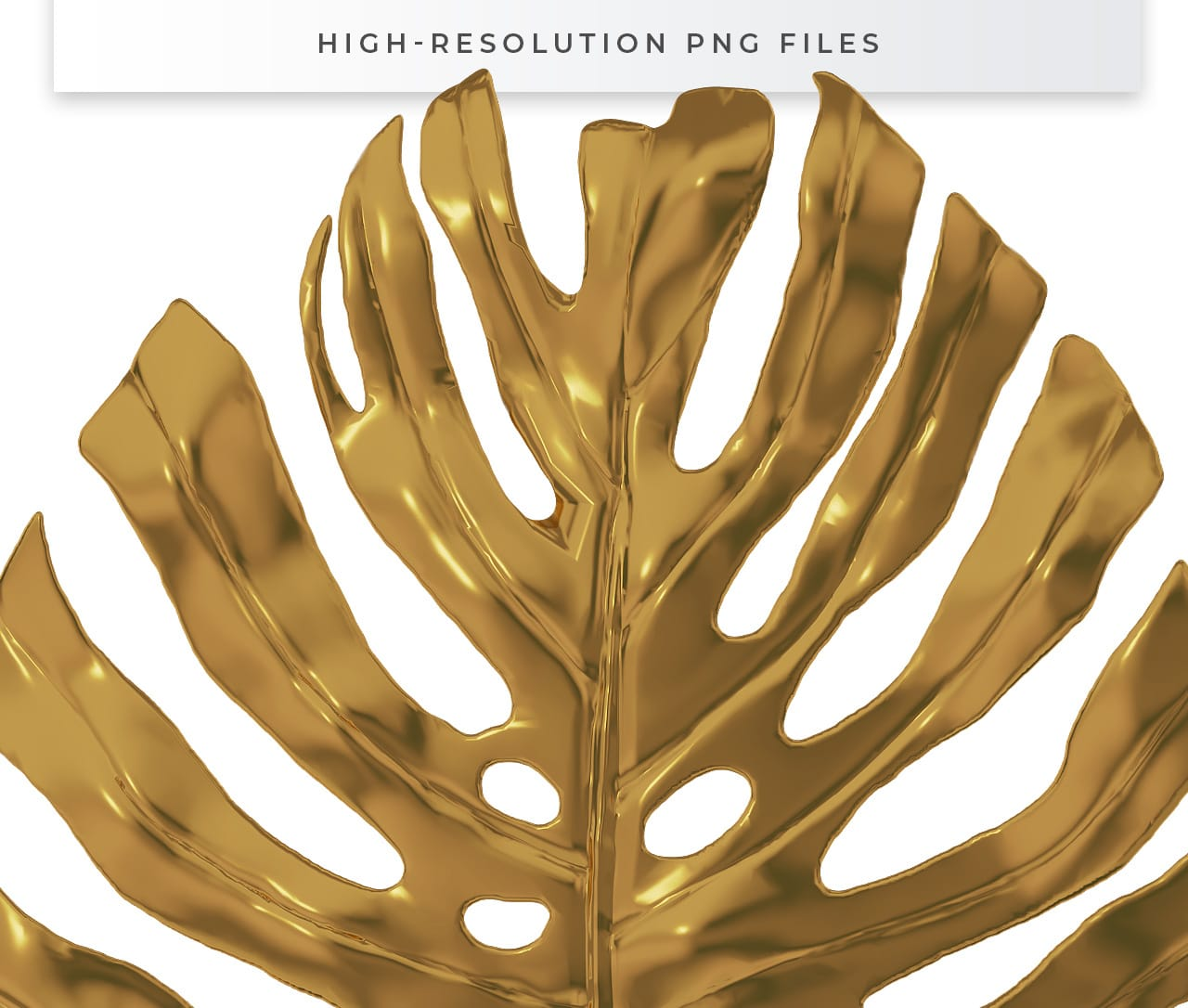 High Resolution Transparent Gold Leaf