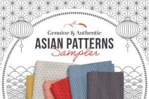 Asian Patterns for Photoshop