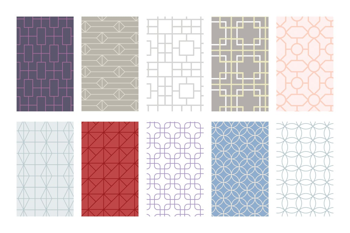 Asian Patterns for Photoshop (Preview)