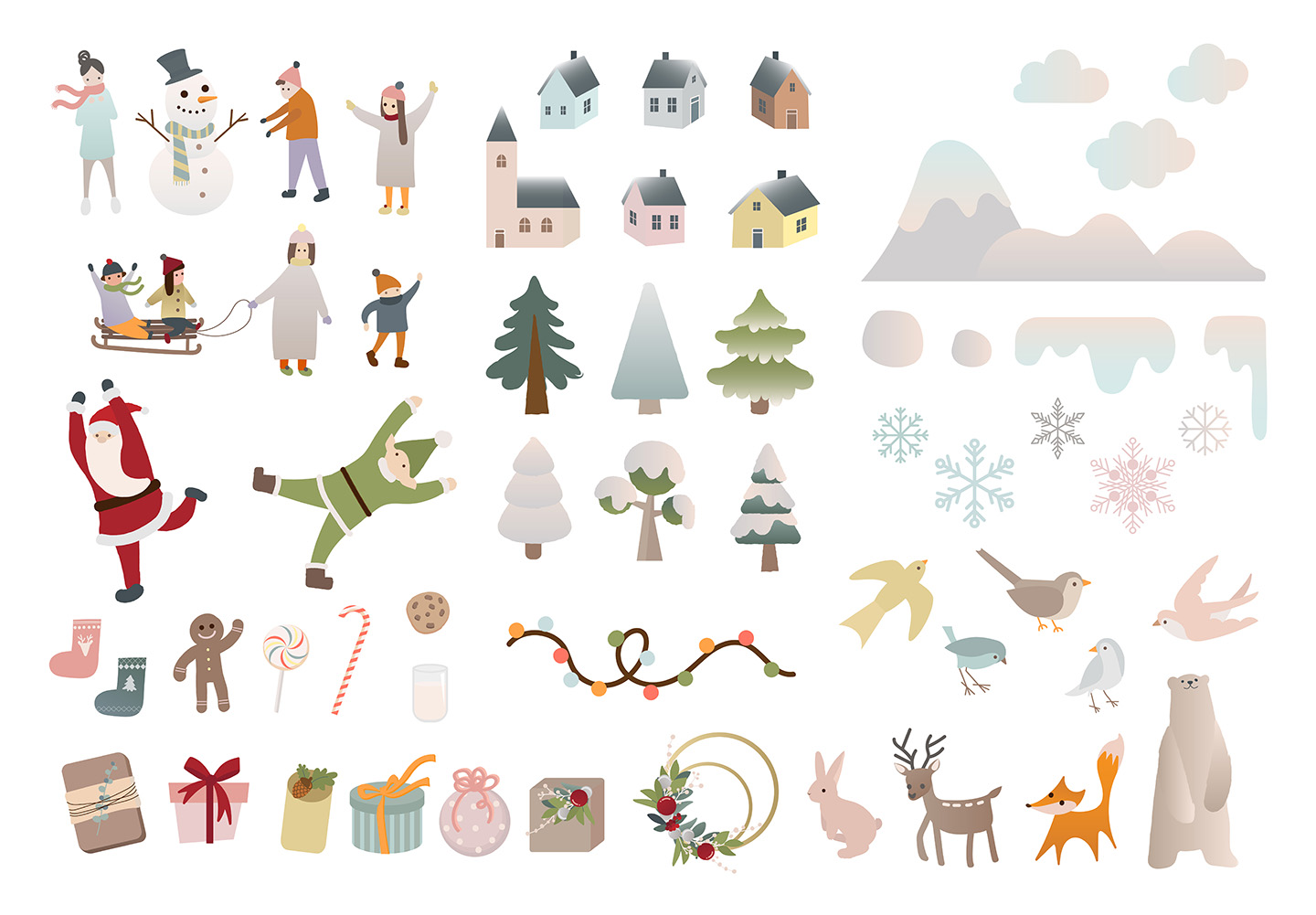 Winter Vector Illustrations