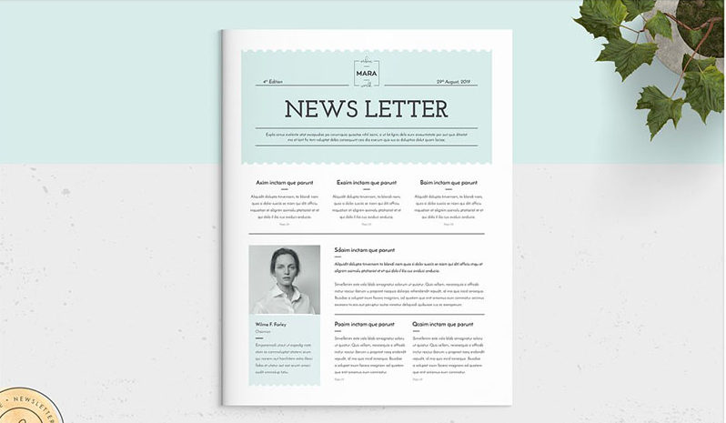 Contemporary Newsletter Template