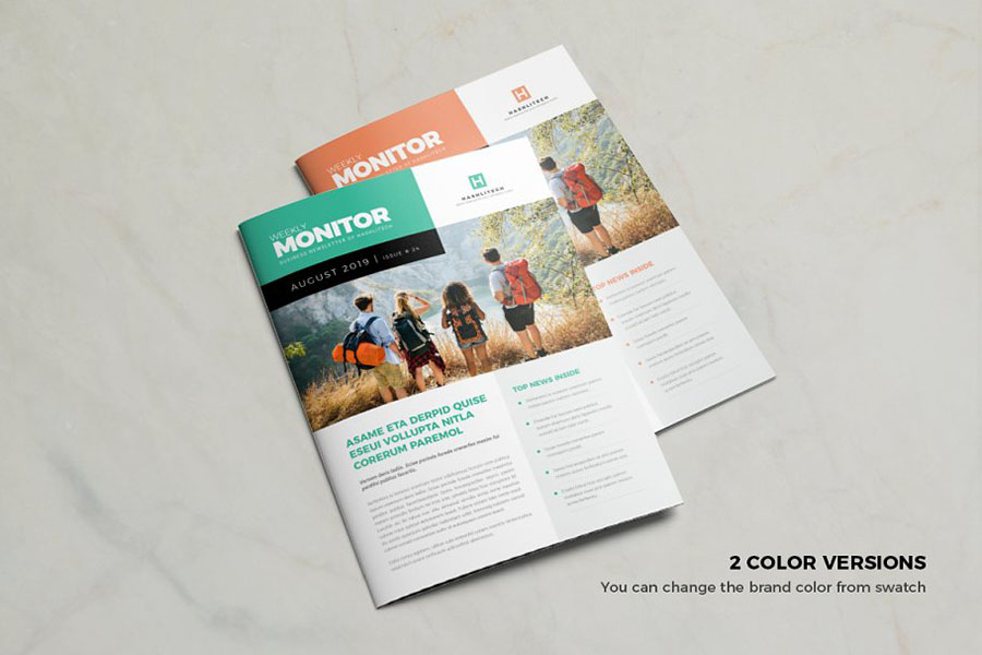Simple Pack Newsletter Template