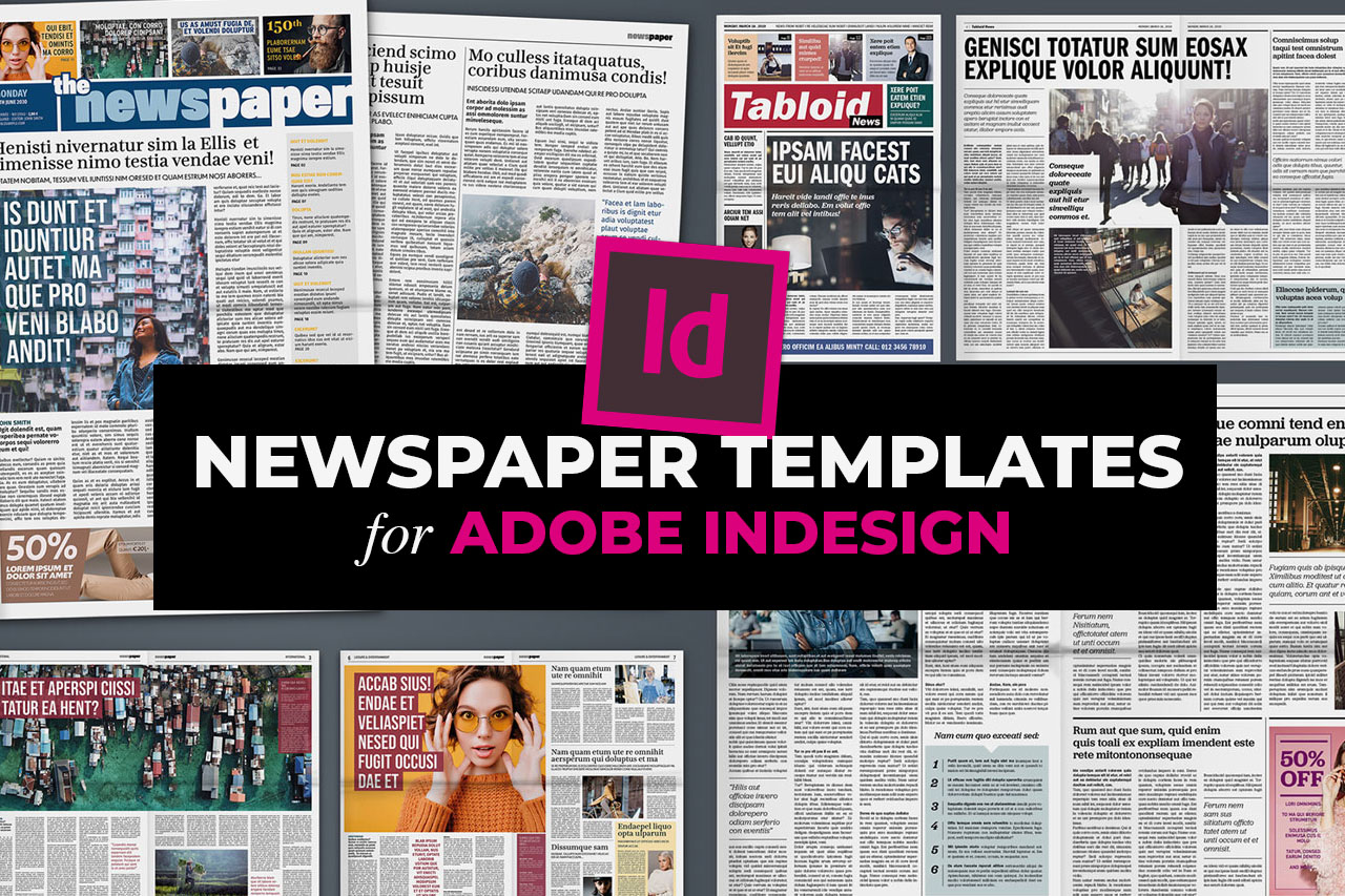 Best InDesign Newspaper Templates
