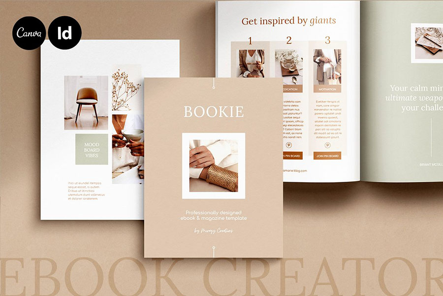 eBook / CANVA, INDD / Elegant