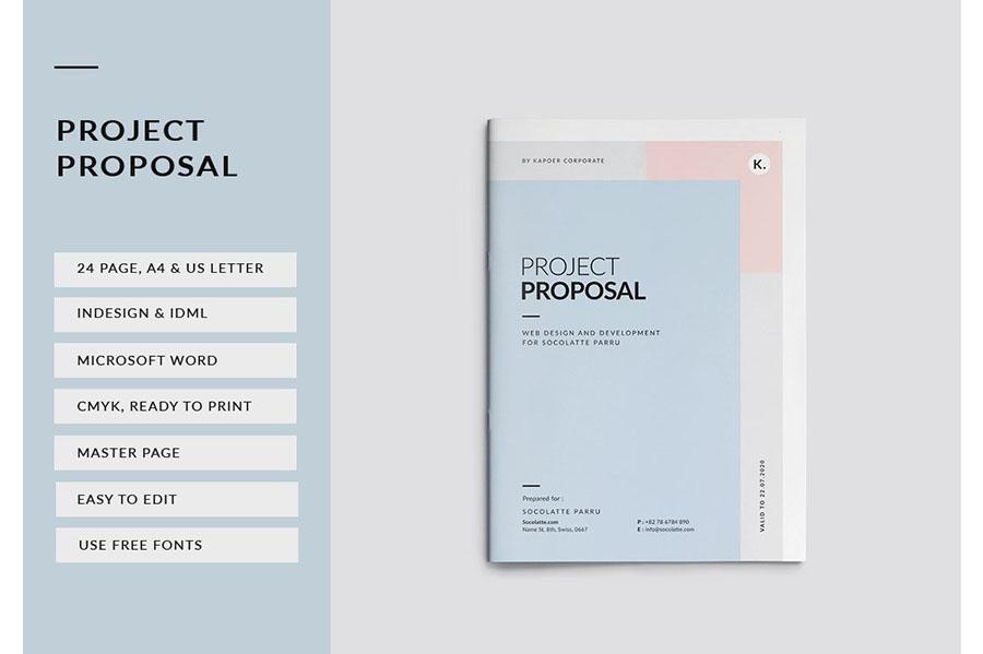 Proposal InDesign Brochure Template