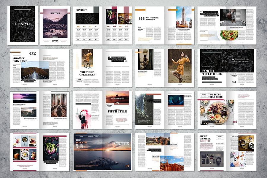 Lifestyle Brochure Templates