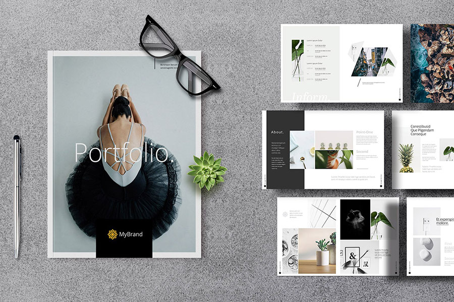 Photography & Portfolio Brochure