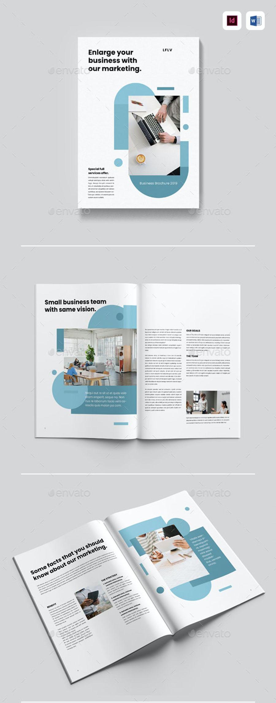 Marketing InDesign Brochure Templates