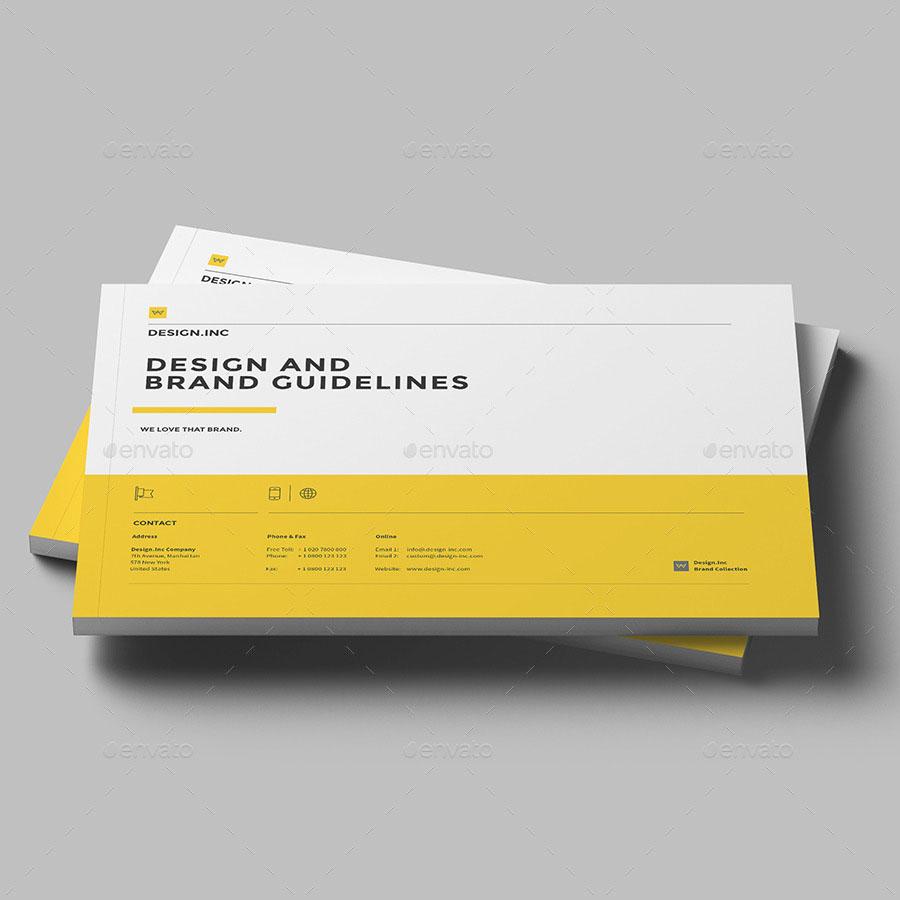 Marketing & Branding InDesign Brochure Template
