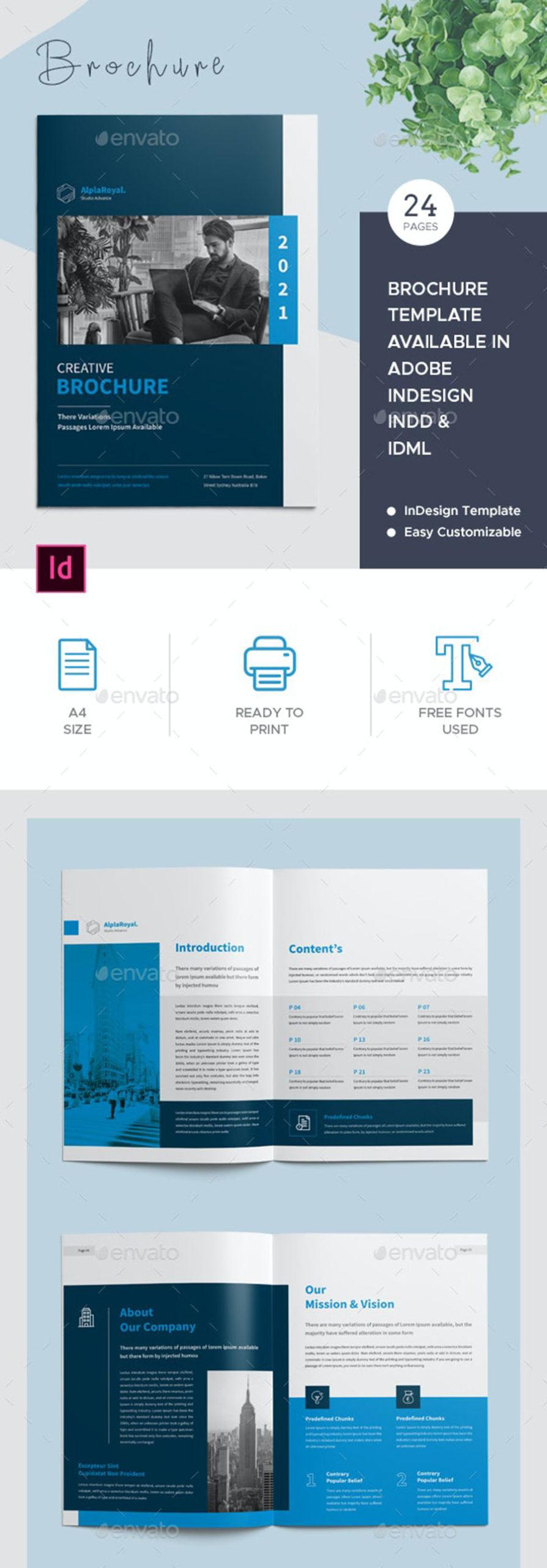 Creative InDesign Brochure Template