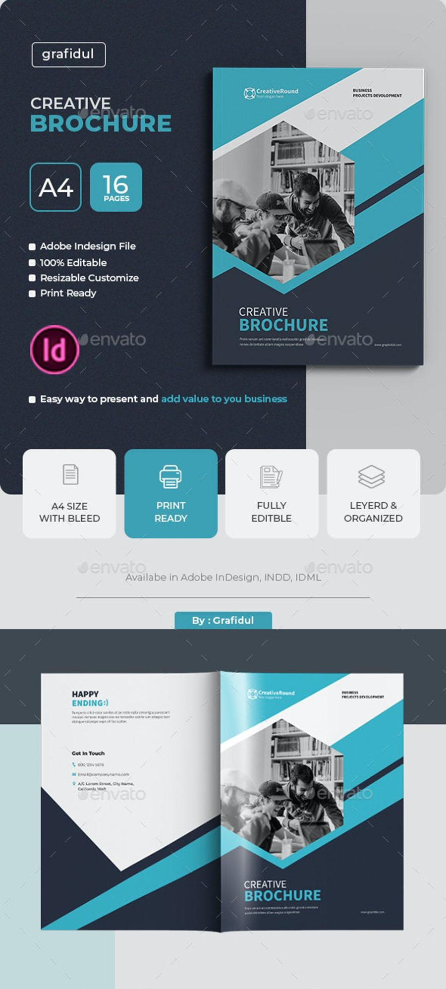Creative Brochure InDesign Template