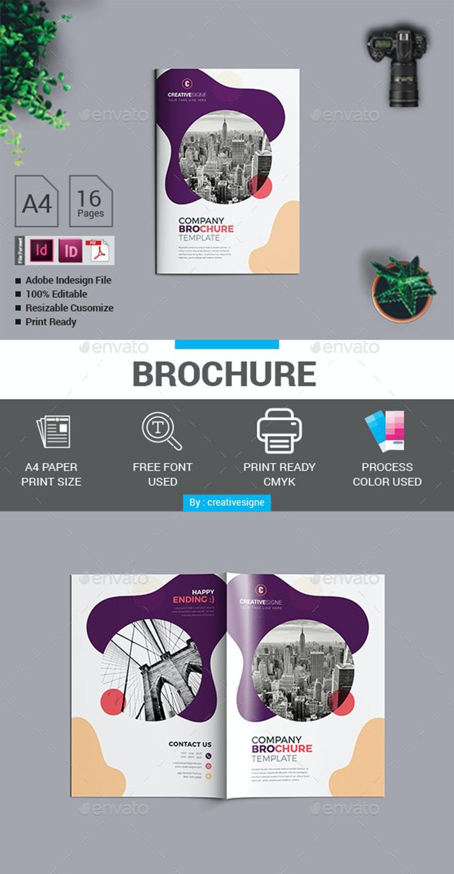 Creative Company InDesign Brochure Templates