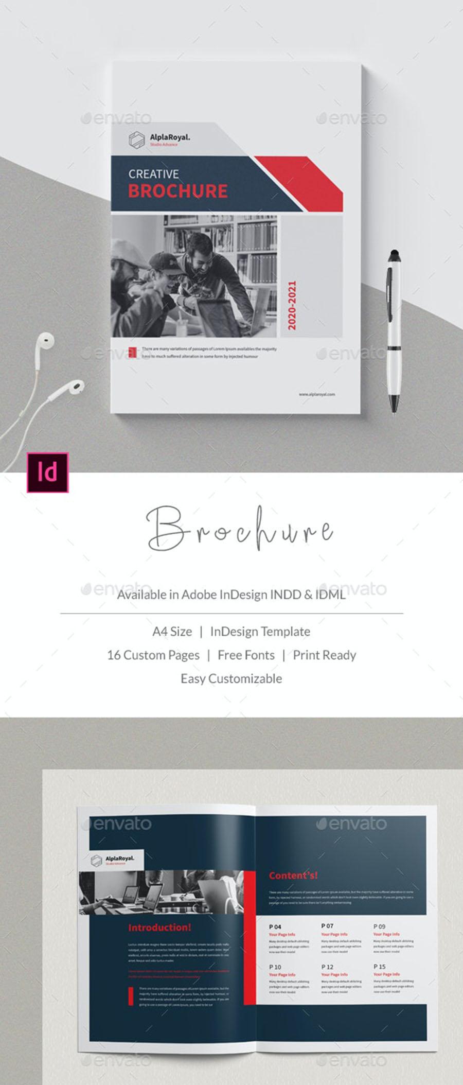 Modern Creative Brochure Template