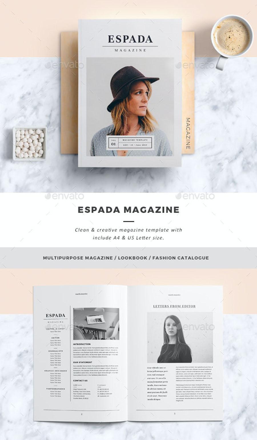 ESPADA InDesign Magazine Template