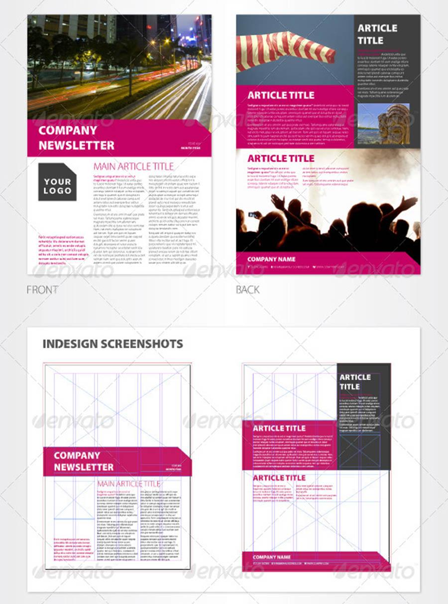 Versatile InDesign Newsletter