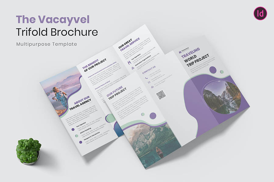 Vacayvel Trifold Brochure