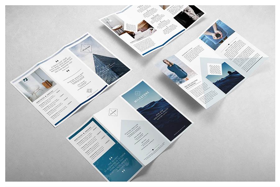 MILESTONE Trifold Brochure
