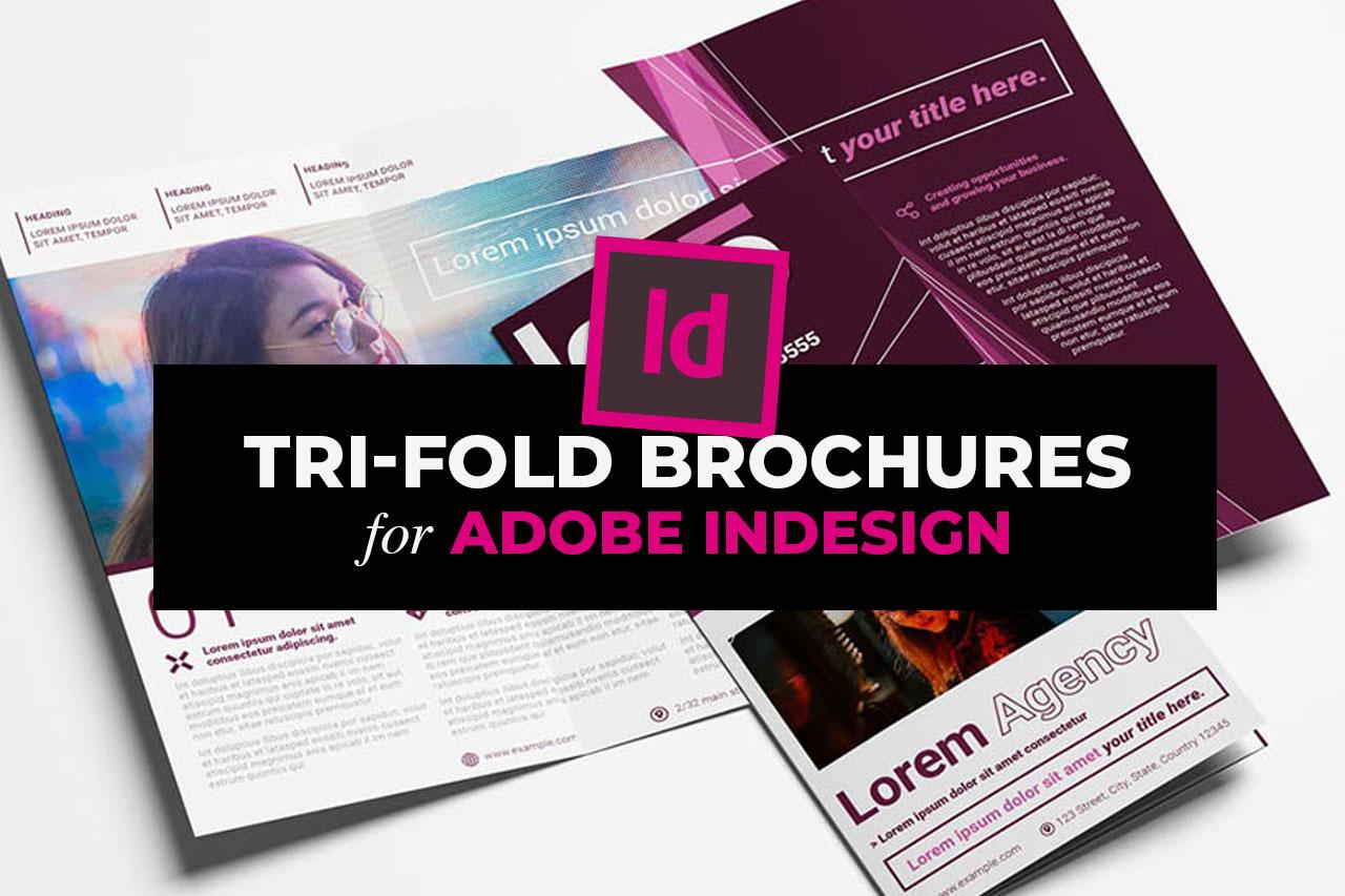 InDesign Tri Fold Brochure Templates (INDD)