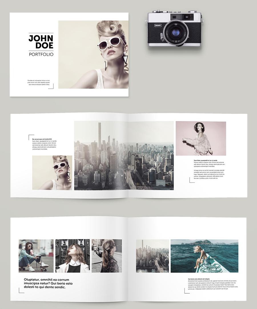 InDesign Portfolio Brochure Layout