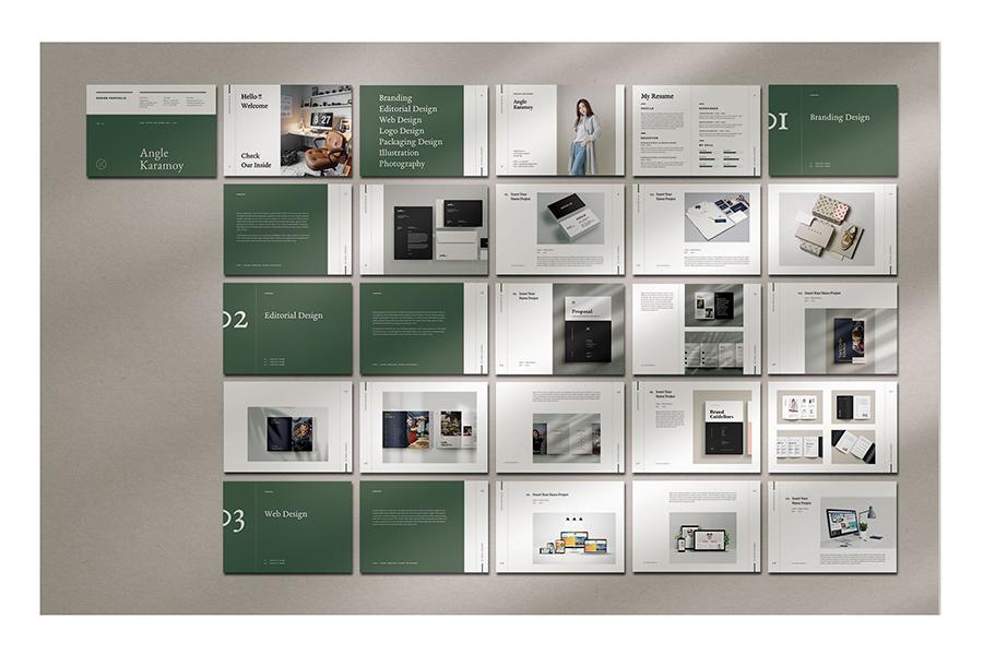 Modern Graphic Design Portfolio