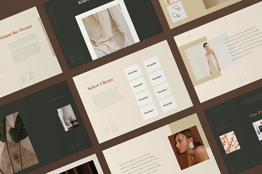 Mirabilis Creative InDesign Portfolio Template