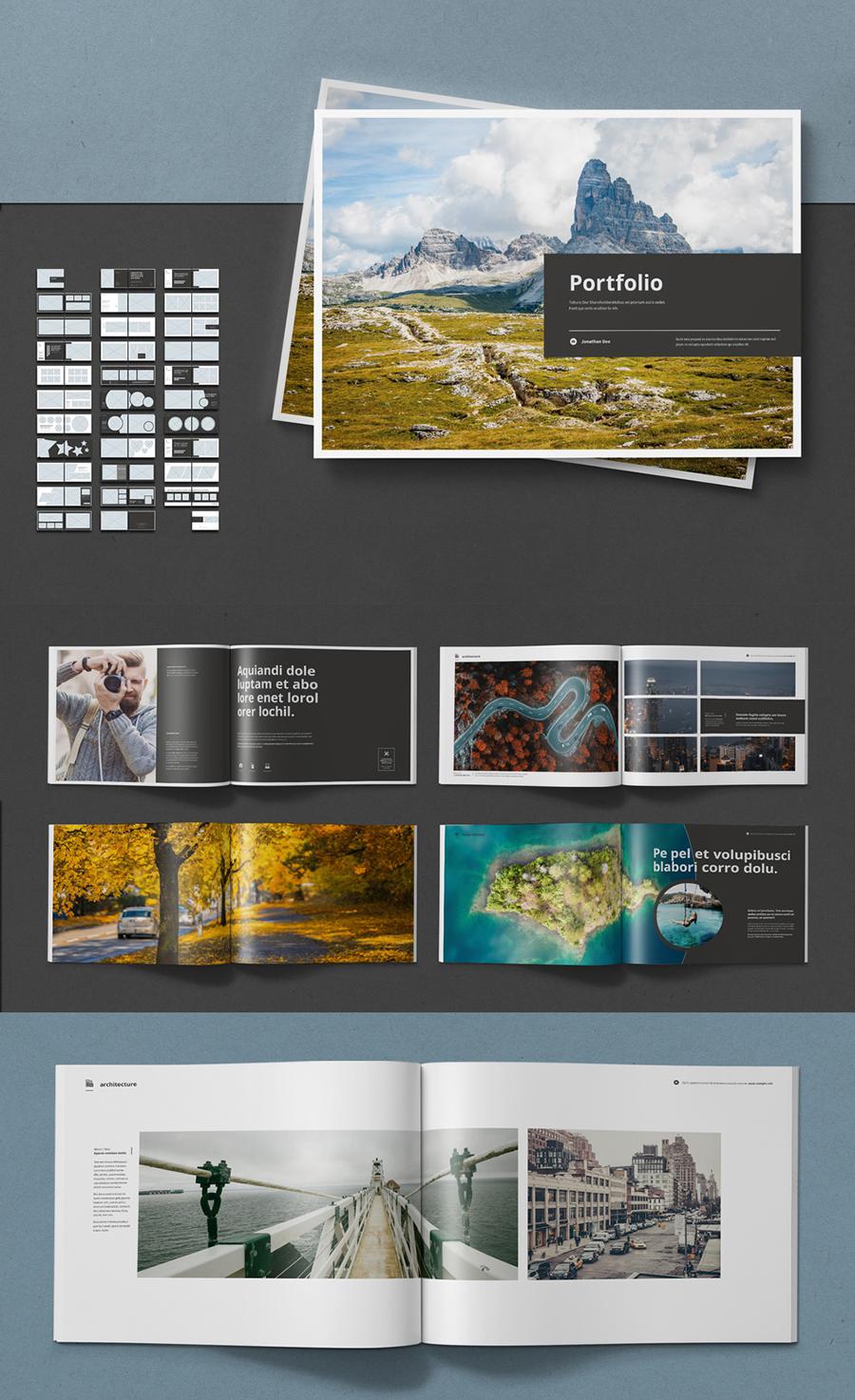 Landscape Portfolio Layout