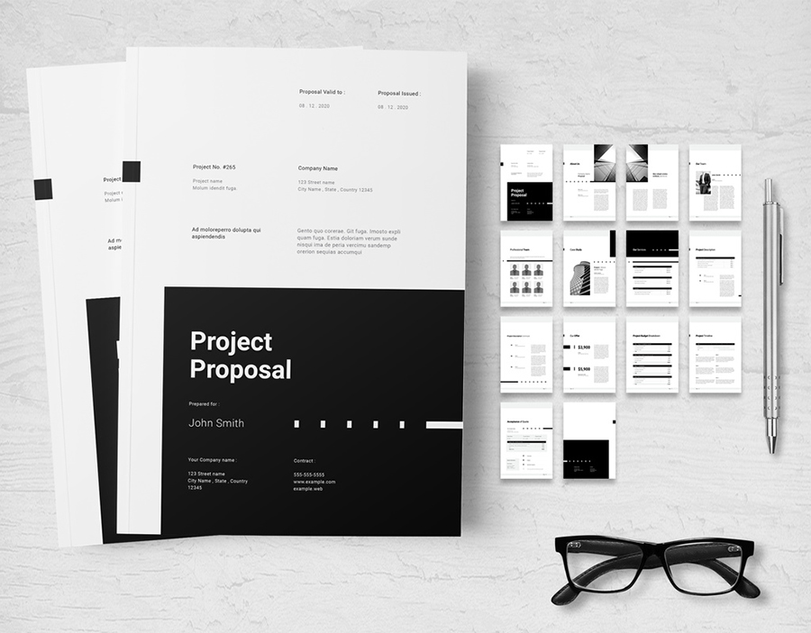 Black and White Project Proposal