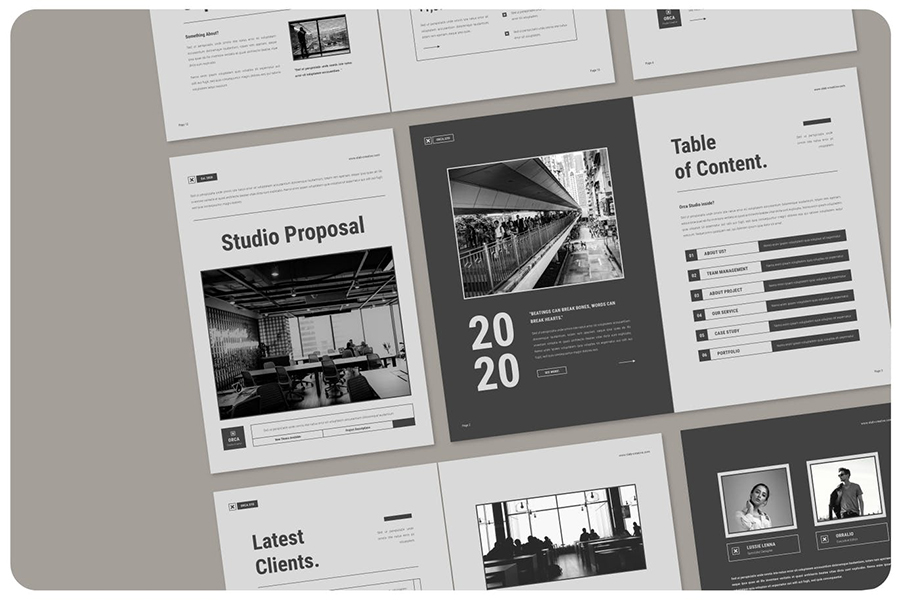 Studio InDesign Proposal Template